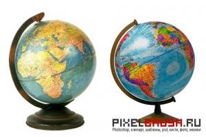 Картинка глобус 4