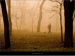 Фото осень женщина 7