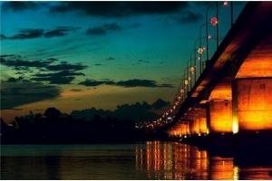 Ночные мосты фото
