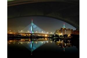 Ночные мосты фото 3