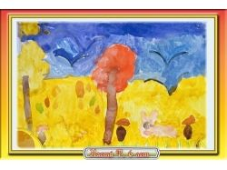 Осень рисунки фотографии 7