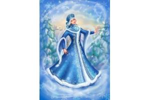 Рисунок зимняя сказка 6