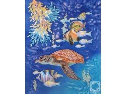 Рисунки про подводный мир