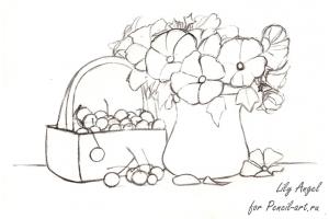 Пасха рисунки карандашом 4