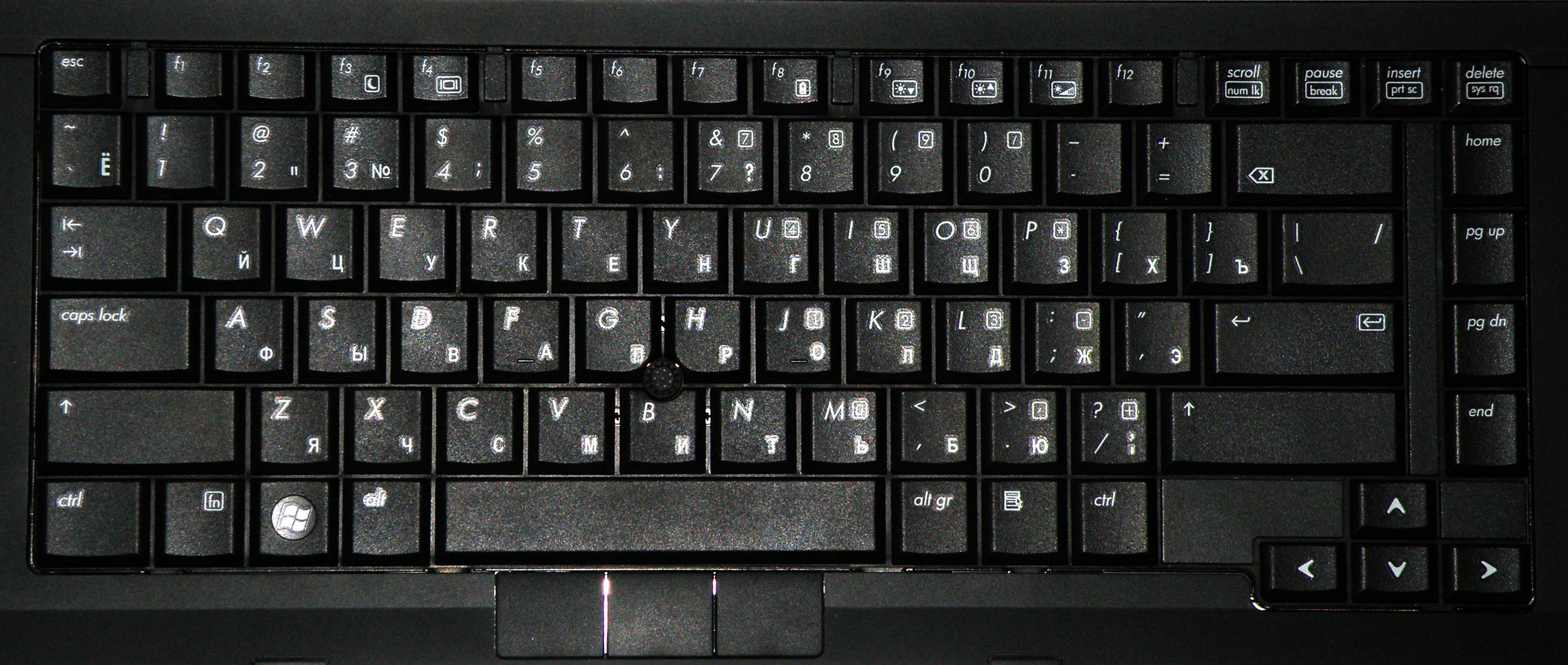 Картинки клавиатура русско английская