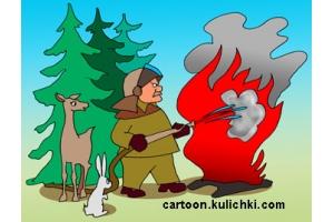 Пожар рисунок 3