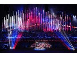 Фото флага олимпийских игр