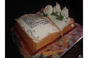 Торт книга фото 5