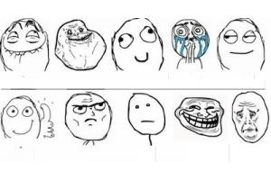 Мемы лица 7