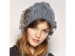 Модные шапки фото зима
