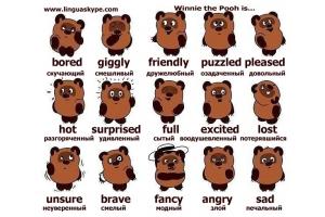 Эмоции в картинках 5