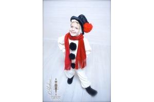 Новогодний костюм снеговика фото 2