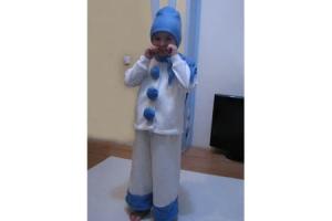 Новогодний костюм снеговика фото 4