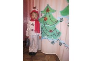 Новогодний костюм снеговика фото 6
