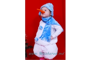 Новогодний костюм снеговика фото 8