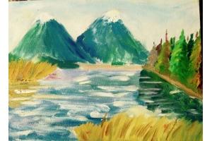 Природа рисунки 6