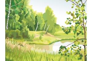 Природа рисунки 8