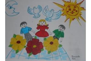 Рисунки мы за мир 6