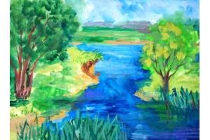 Рисунок природы 6