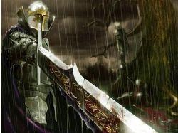 Картинки 3d фентези рыцари воины