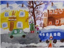 Рисунки улицы города