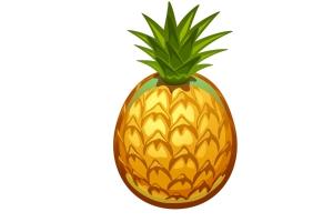 Картинки ананас 4