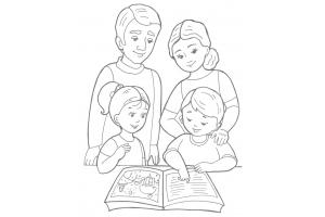 Моя семья рисунки 7