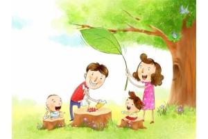 Моя семья рисунки 8