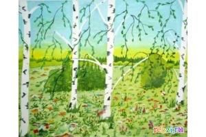 Природа рисунок 4