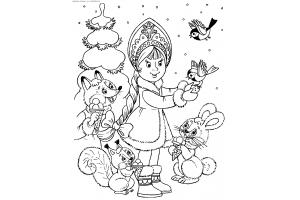Новогодние раскраски для детей распечатать 2