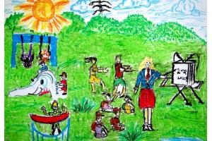 Школа рисунки 4