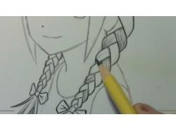 Аниме фото как рисовать
