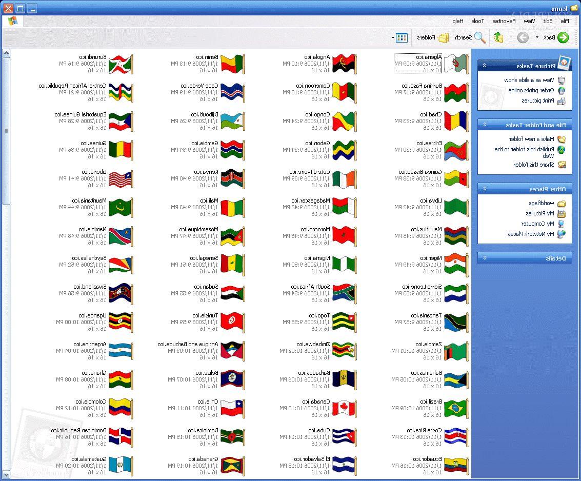 Флаги стран мира в картинках список и фото  interesno