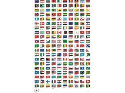 Флаги мира картинки с названиями 4