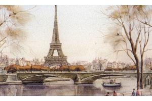 Эйфелева башня рисунок 3