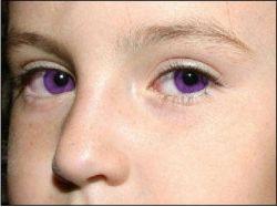 Фото люди с фиолетовыми глазами 7