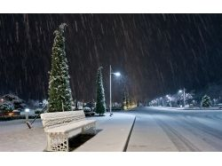 Детские картинки зима в городе
