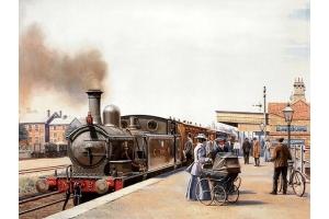 Картинки поездов 3