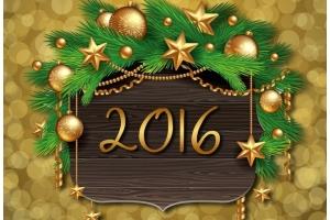 Новый год фотошоп 3