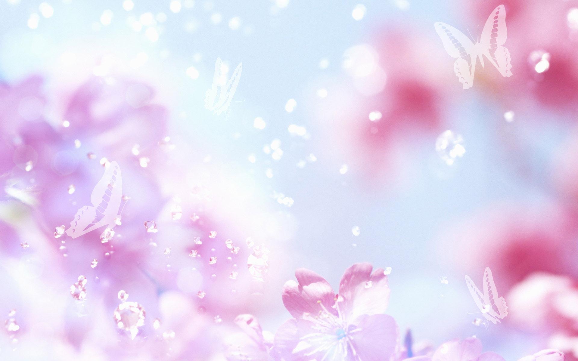 Картинка с нежными цветами для фона, день