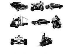 Мотоциклы фотошоп