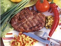 Горячие мясные блюда фото