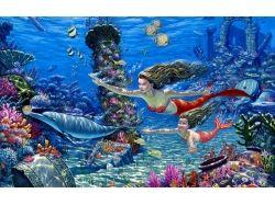 Подводный мир - русалки 7
