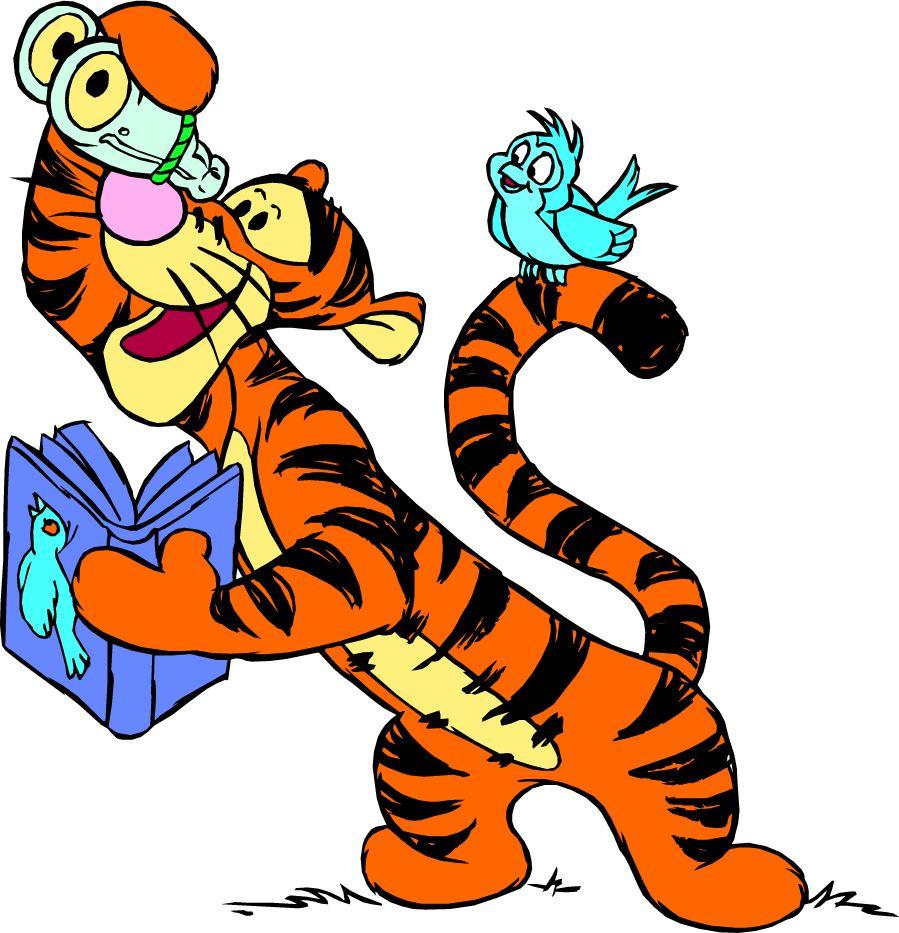 Тигры из мультика картинка