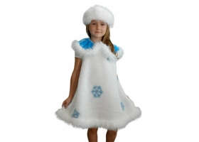 Новогодний костюм снежинки фото