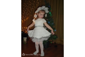 Новогодний костюм снежинки фото 5