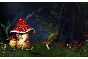 Сказочный домик картинки 4