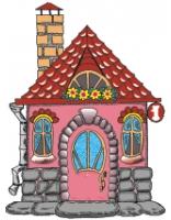 Сказочный домик картинки 6