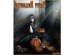 Анимационные открытки хэллоуин 7