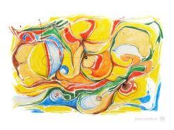 Абстракция рисунки простые 7